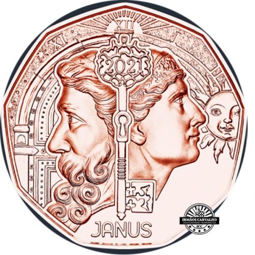 Austria  5€ 2021 Janus