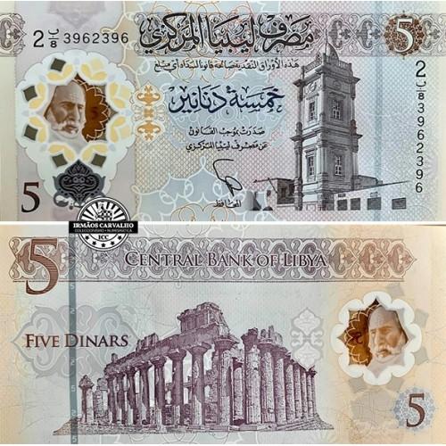 Lybia 5 Dinars 2021