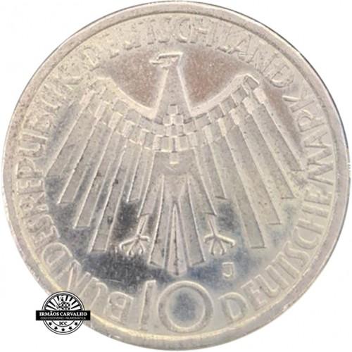 Alemanha 10 Marcos 1972 J