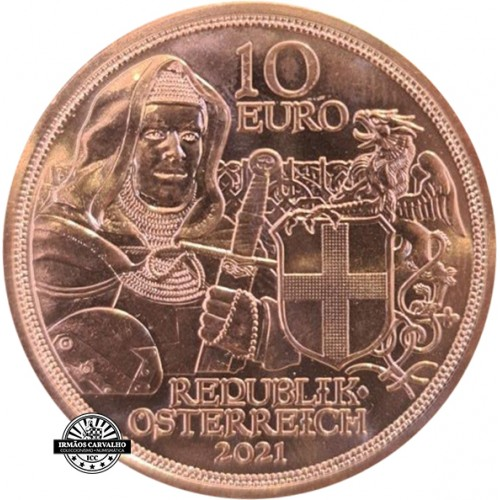 Austria  10€ 2021 Brotherhood