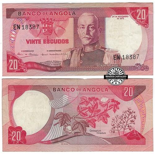 Angola 20$00 1972