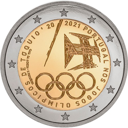 Portugal  2€ 2021 TOKYO OLYMPIC GAMES