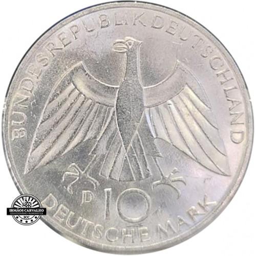 Alemanha 10 Marcos 1972 D