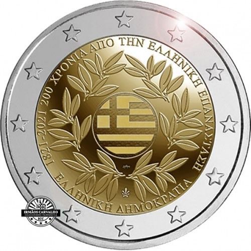 Greece 2 € 2021 200th anniversary of the Greek Revolution