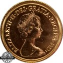 Great Britain 1974 Gold  Sovereign Quenn Elizabeth II
