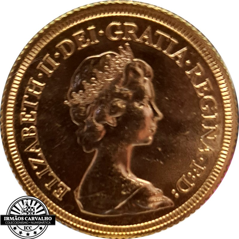 Great Britain 1967 Gold  Sovereign Quenn Elizabeth II
