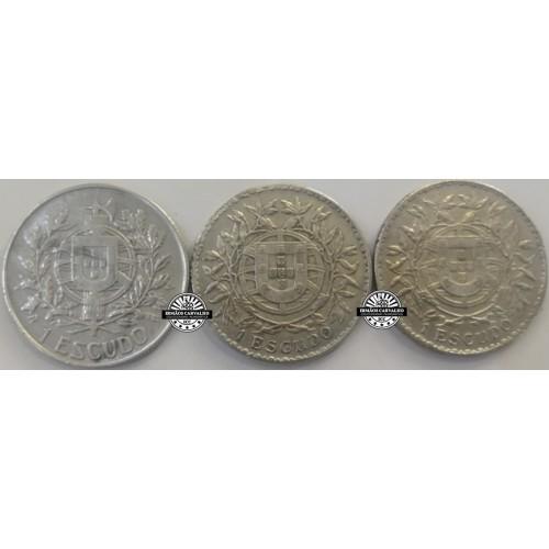 Colecção 1 Escudos em Prata