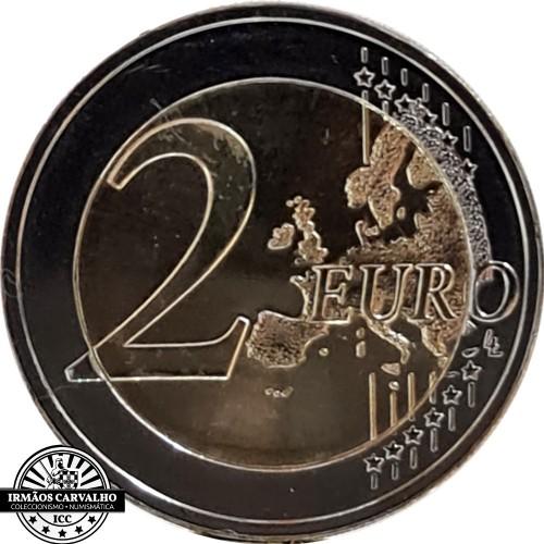 Estónia 2€ 2021 O Povo Fenno-Ugria