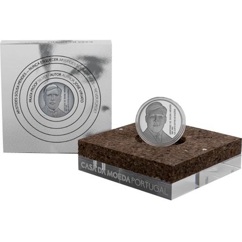 Portugal 2021  5€ Aristides de Sousa Mendes (Silver Proof)