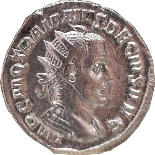 Trajan Decius (249 to 251) Antoninianus