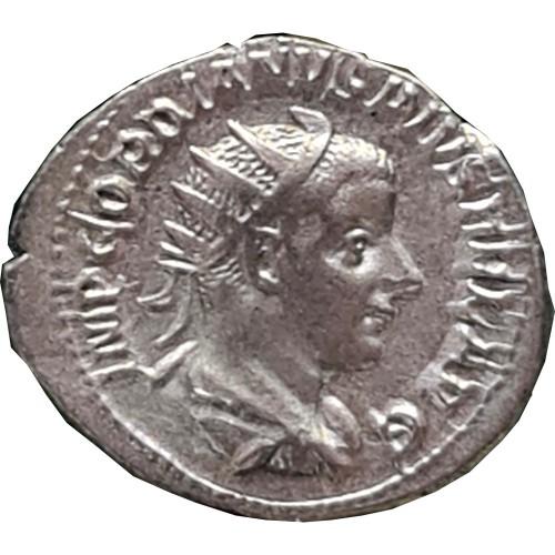 Gordiano III Pio (238 to 244 D.C.) Antoniniano