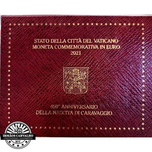 Vatican 2€ 2021 Caravaggio