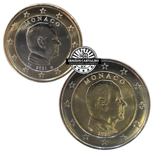 Monaco 2021 1 & 2 euro