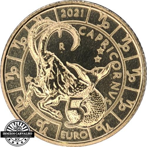 San Marino - 5€ 2021 (Capricorn Zodiac)