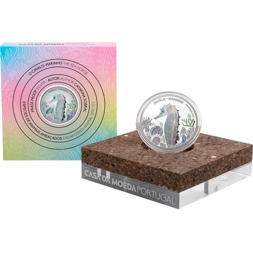 Portugal 5€ 2021 The Seahorse (Silver Proof)