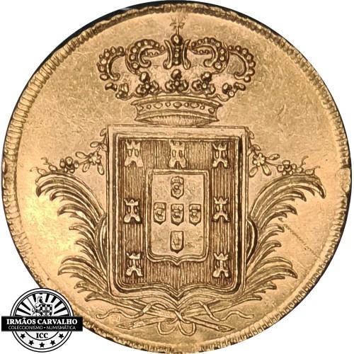 D.Miguel I 3.750 Réis 1830 (Ouro)