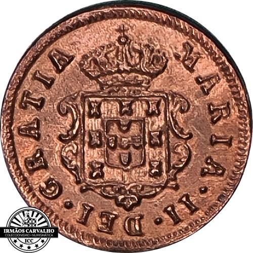 Mozambique Maria II 1853 II Reis