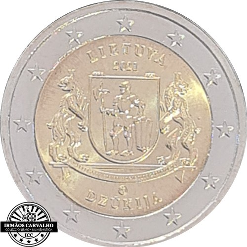 Lithuania 2€ 2021 Dzukija Region