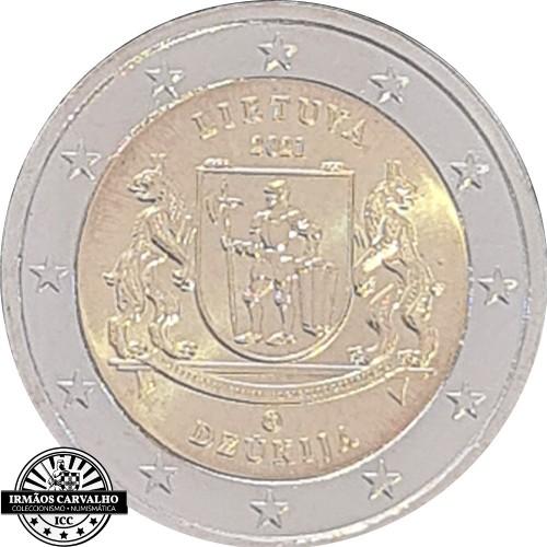 Lituânia 2€ 2021 Região Dzukija