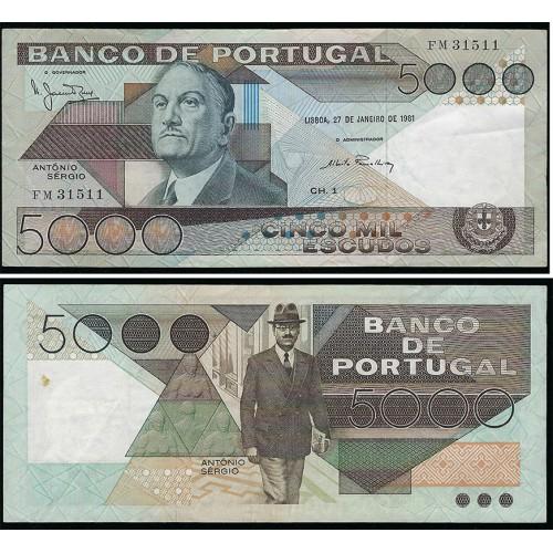 5000$00 Ch.1 (27/01/1981)