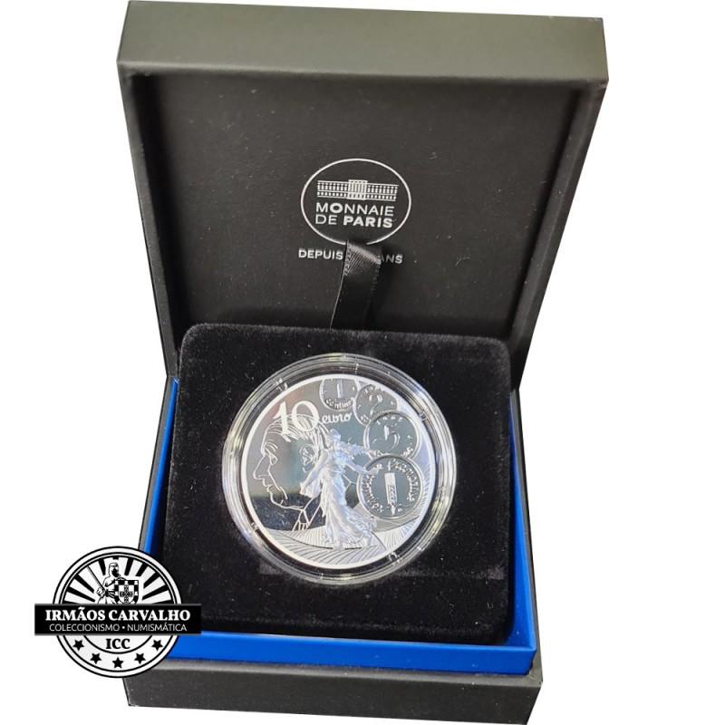 France 2021 10 Euro Magellan (Unesco)