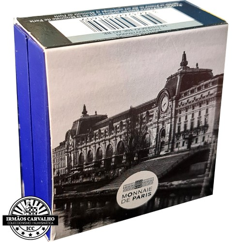 France 2018 10 Euro Louvre