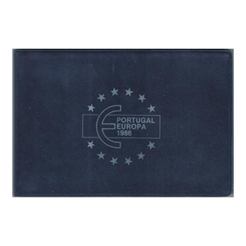 """25 Escudos 1986  BU """"UE"""""""