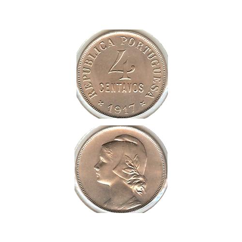 4 Centavos 1917