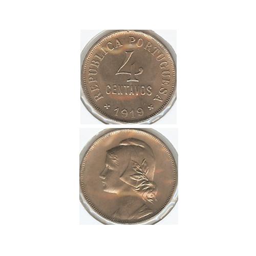 4 Centavos 1919