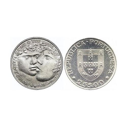 25$00 1979 (Ano Internacional da Criança)