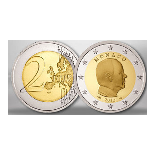 Monaco 2€ 2012