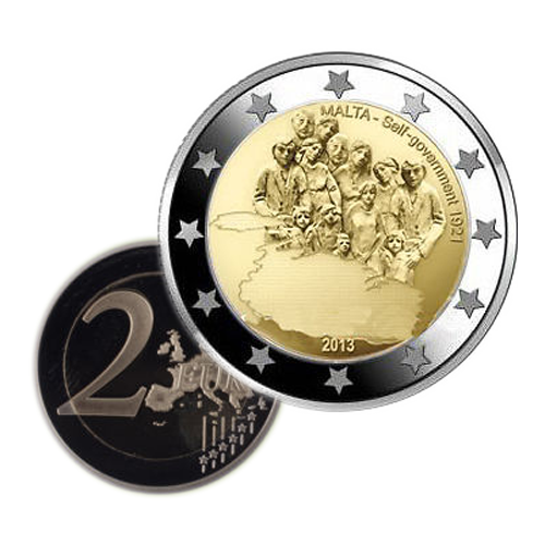 Malta 2€ 2013 Indepedência