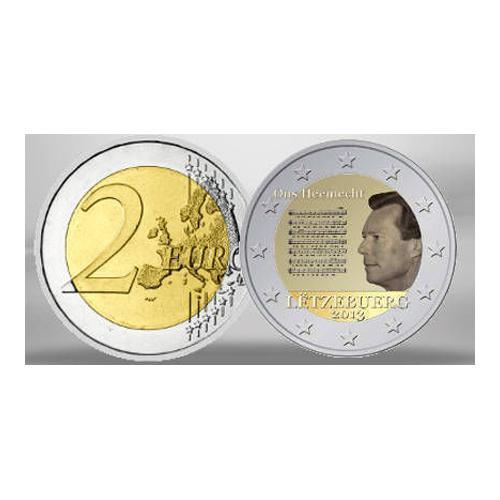 Luxemburgo 2€ 2013 Hino Nacional