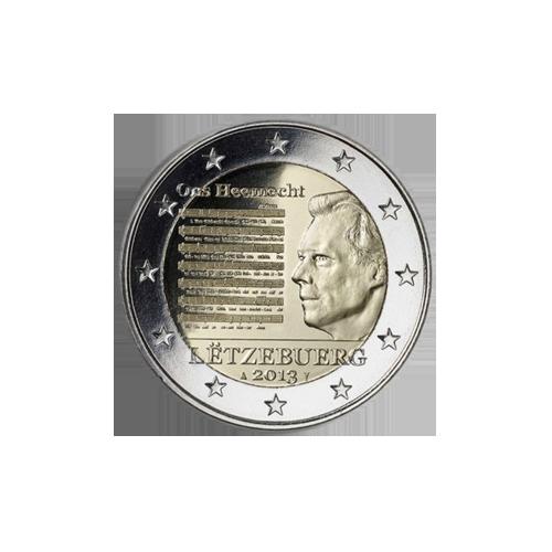 Luxemburgo 2€ 2013