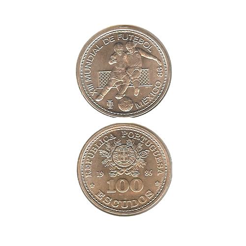 100$00 1986 (Mundial do México )