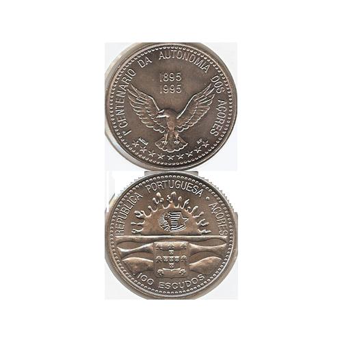100$00 1995 (1º Centenário da Autonomia dos Açores)