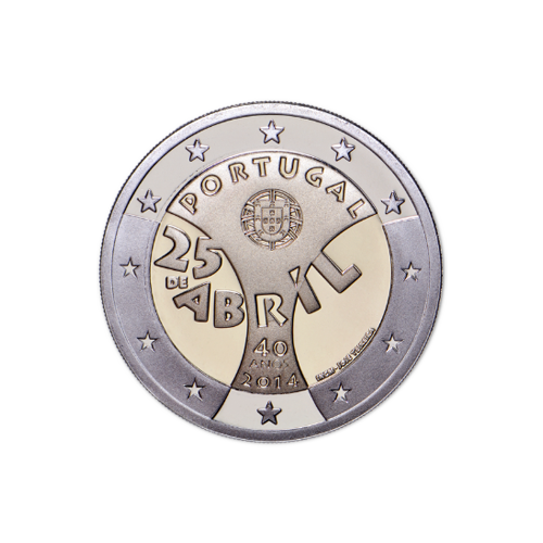 Portugal 2€ 25 de Abril 2014