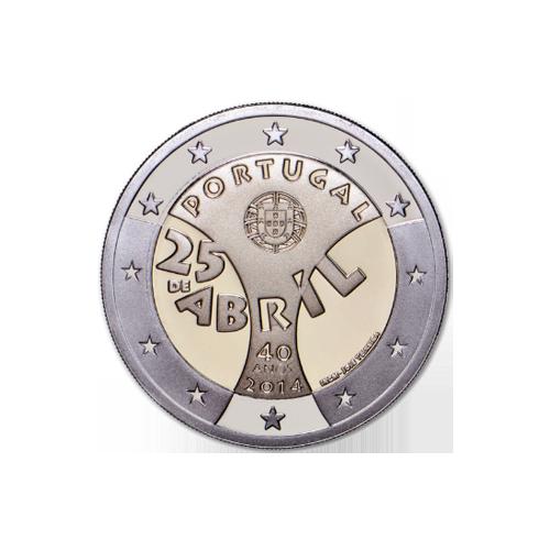 Portugal 2€ April 25th 2014