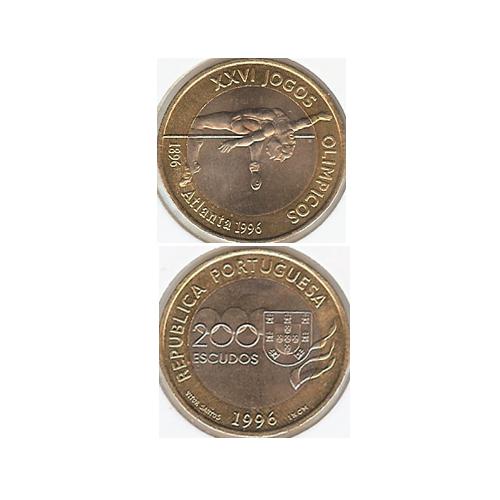 200$00 1996 (XXVI J. Olímpicos de Atalanta)