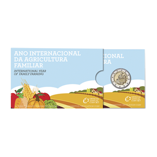 Portugal 2€ 2014 Proof (Agricultura Familiar)