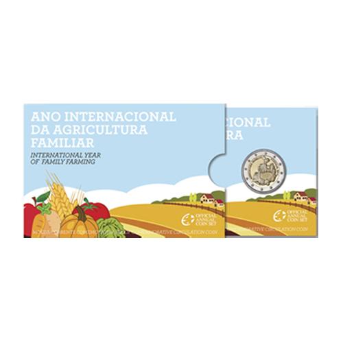 Portugal 2€ 2014 Proof (Agricultura Familiar)