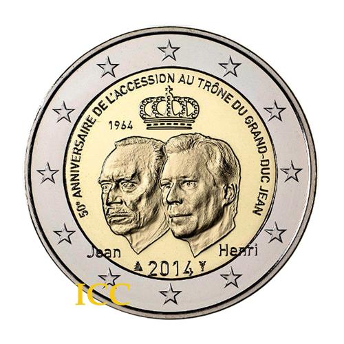 Luxemburgo 2€ 2014 Ascenção