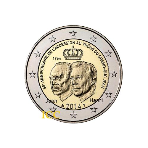 Luxemburgo 2€ 2014