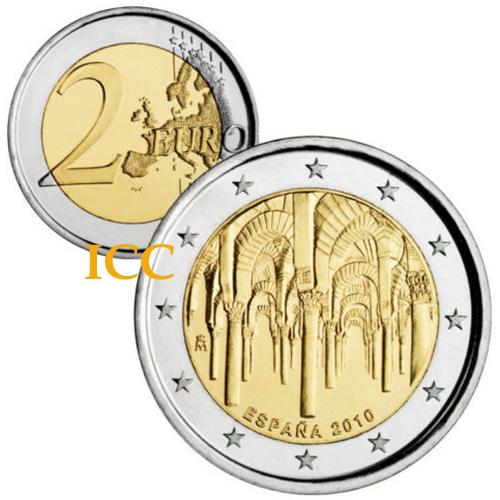 Espanha 2€ 2010 Cordoba