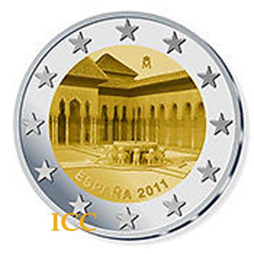 Espanha 2€ 2011Granada