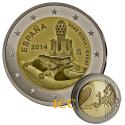 Espanha 2€ 2014 Guell Gaudi
