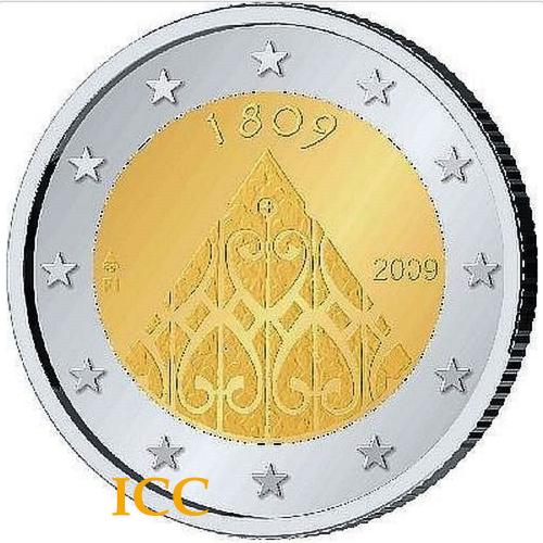 Finlândia 2€ 2009 Autonomia