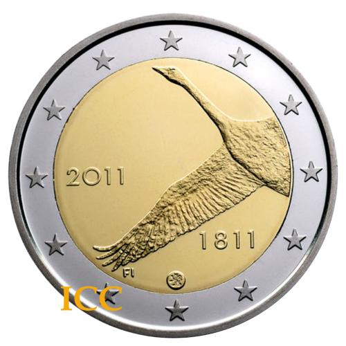 Finlândia 2€ 2011 Banco Finlandês