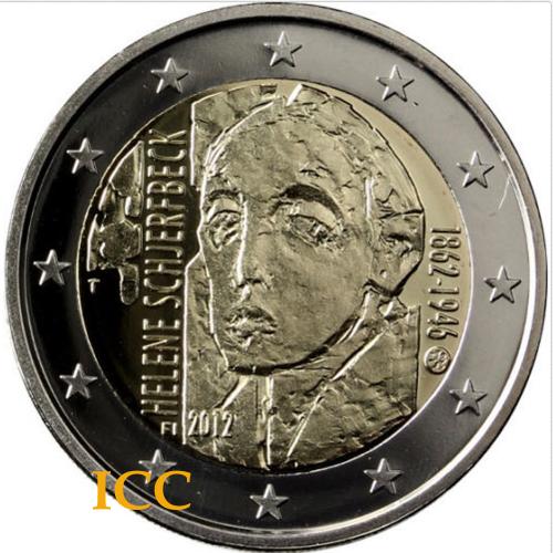 Finlândia 2€ 2012 Helene Schjerfbeck