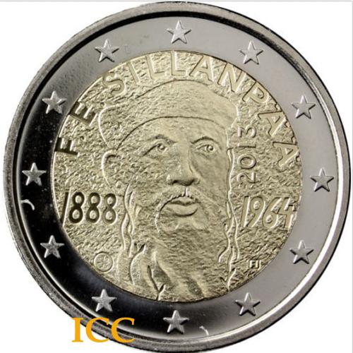 Finlândia 2€ 2013 Sillampaa